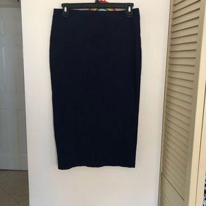 Sanctuary navy pencil skirt